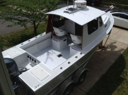 P-21 Sport Fishing Boat Build by Hope2float